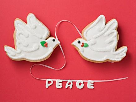 Christmas Dove Favors