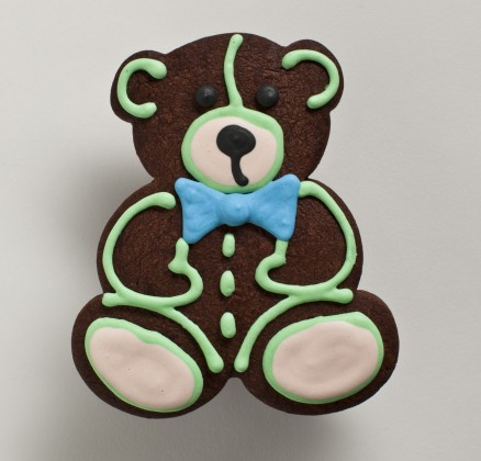 Naked Teddy Bear (Chocolate)