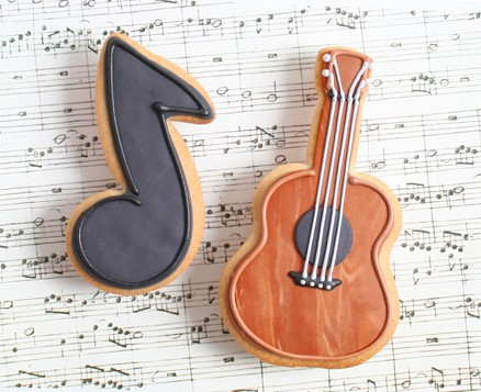 Guitar and Music Note Favors