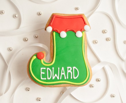 Personalized Elf Bootie Favors