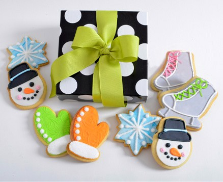 Winter Snow Day Gift Box