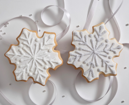 Winter Snowflake Favors