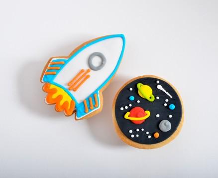 Rocket + Space Favors