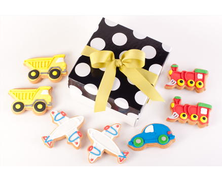 Trains, Planes & Automobiles Gift Box