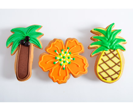 Tropical Trio Favors