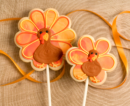 Turkey on a Stick Favors