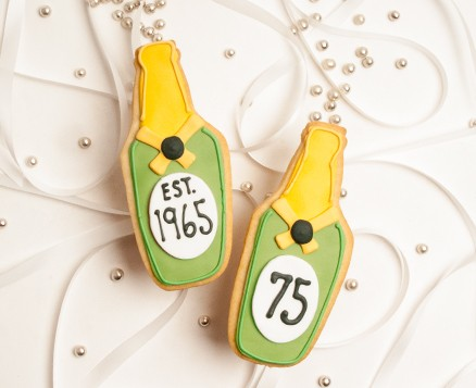 Champagne Bottle Favors