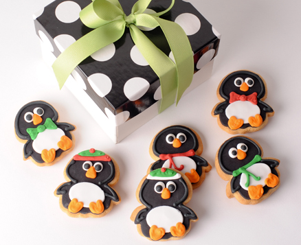 Winter Chubby Penguins Gift Box