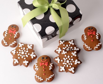 Gingerbread Men Gift Box