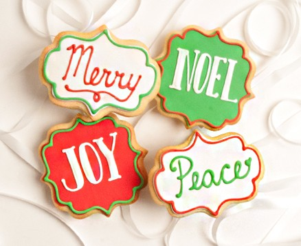 Peace Joy Noel Favors