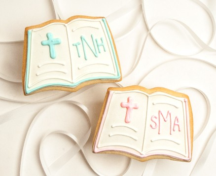 Monogrammed Bible Favors