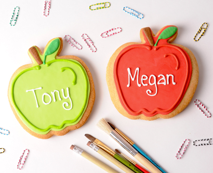 Personalized Apple Favor