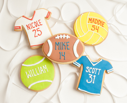 Personalized Sports Favors