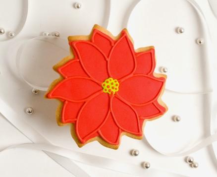 Chrstmas Poinsettia Favors