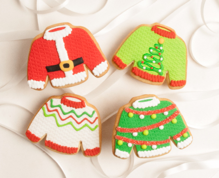 Holiday Sweater Favors