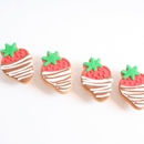 Chocolate Covered Strawberry Favors