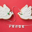 Christmas Dove Favors
