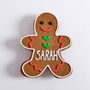 Personalized Gingerbread Man Favors