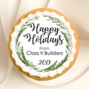 Customized Holiday Circle Favors