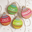Personalized Ornament Favors