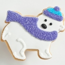 Winter Polar Bear Favor