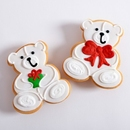 Christmas Teddy Bear Favors