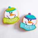 Personalized Snowman Favors